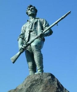 mman statue